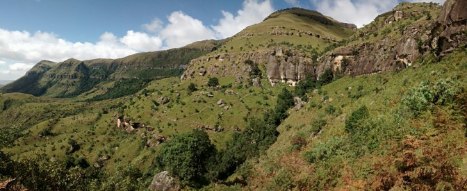 Hiking in the Central Drakensberg